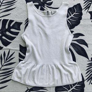 LOFT 💕NWOT💕 cream knit tank top